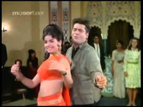 Song: Aaj Kal Tere Mere Pyar Ke Charche Movie: Brahmachari ...