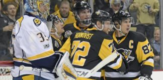 Hornqvist set to return for Pens, Fisher for Preds in Game 1