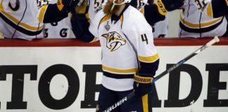 The Latest: Predators roar back, tie Game 1 in Pittsburgh
