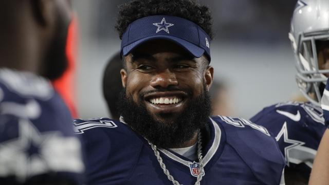Cowboys' Elliott has 6-game ban upheld, but will play Week 1
