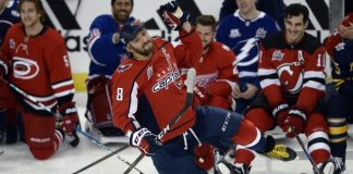 Alex Ovechkin has hardest shot at skills competition