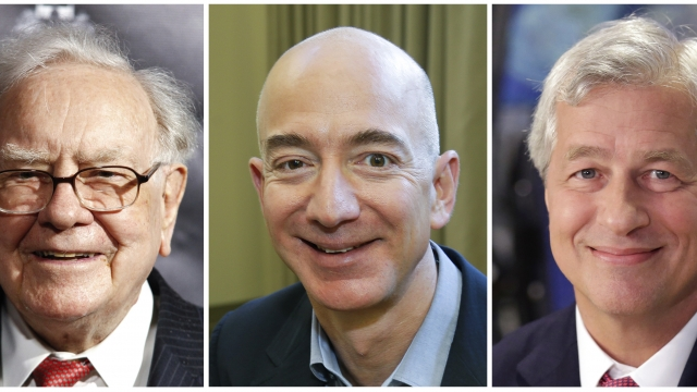Amazon, Buffett and JPMorgan join forces on health care