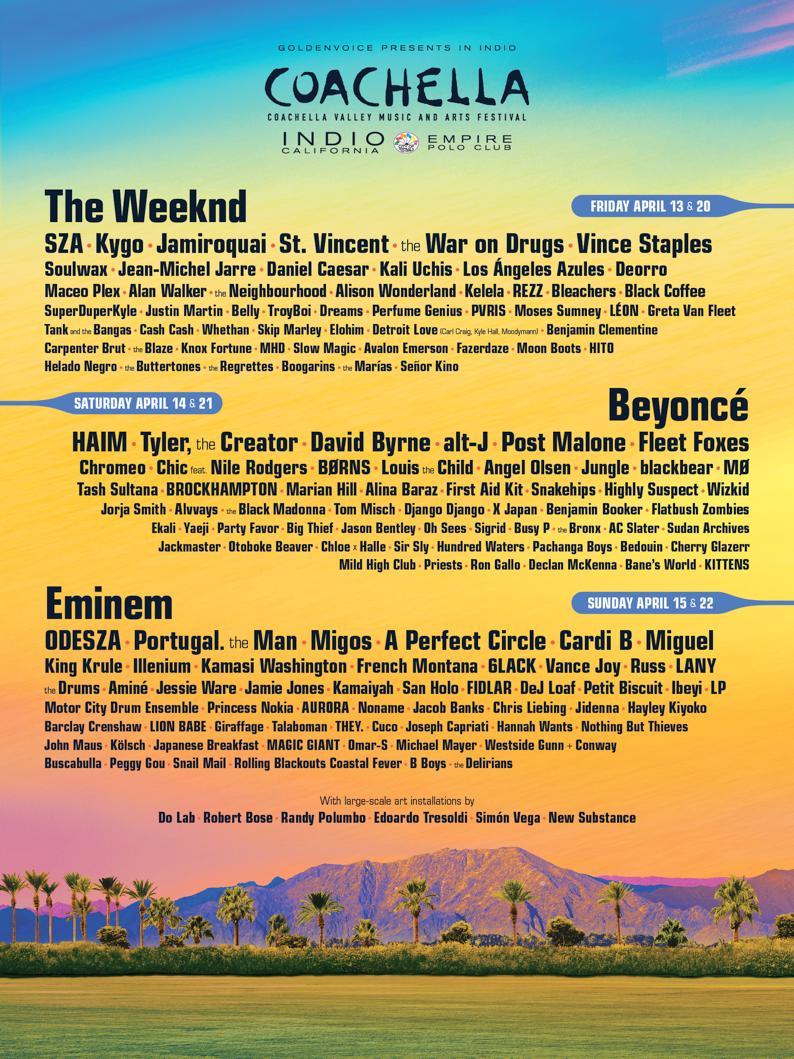 Hip-hop has taken over 2018 Coachella - LemonWire