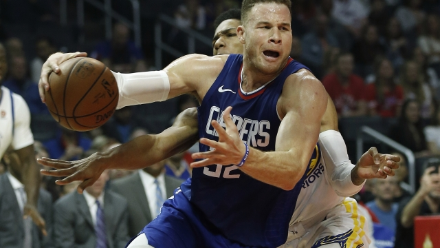 Griffin's departure leaves Clippers in free-agent hunt