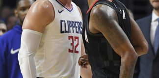 No love lost: Clippers beat Rockets 113-102 in heated game