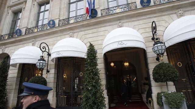 Paris prosecutors to probe 3 Ritz jewel heist suspects
