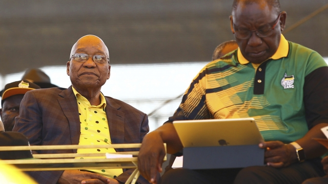 South Africa's new party leader targets 'billions' in graft