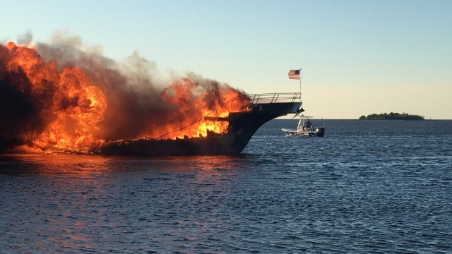 Woman dies after fire on casino boat off Florida's coast