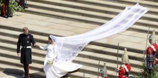 Givenchy's Clare Waight Keller designs Markle's sleek dress