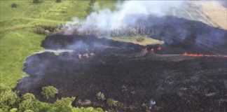 New cracks spew lava as Hawaii volcano erupts for 2nd week