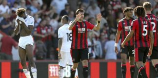 Swansea not safe yet after losing at Bournemouth 1-0 in EPL
