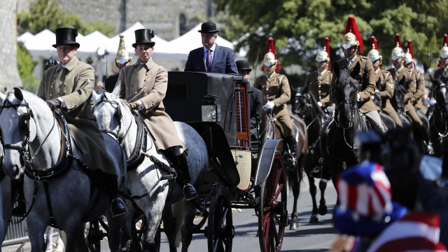The Latest: Meghan Markle's mother has tea with the royals
