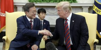 The Latest: Pompeo says US still working toward NK summit