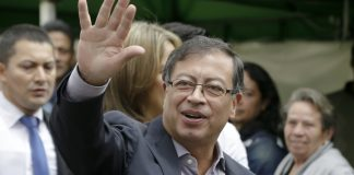 The Latest: Rival concedes, leftist Petro in Colombia runoff
