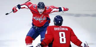 Vrana makes most of promotion, Caps win to put Pens on brink