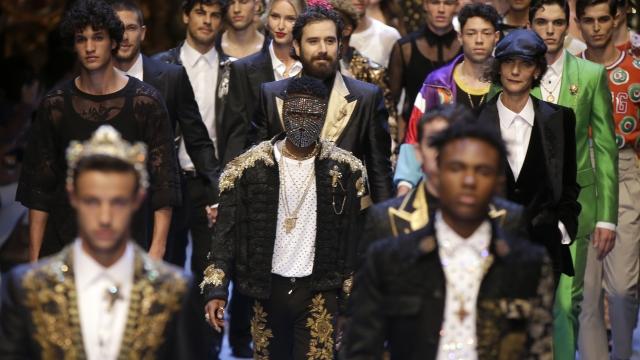 From Missoni to Dolce&Gabbana, Milan men bask in street wear