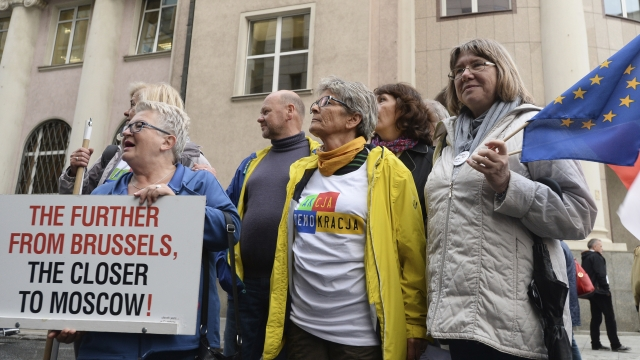 No headway seen from EU hearing on Poland's justice policies