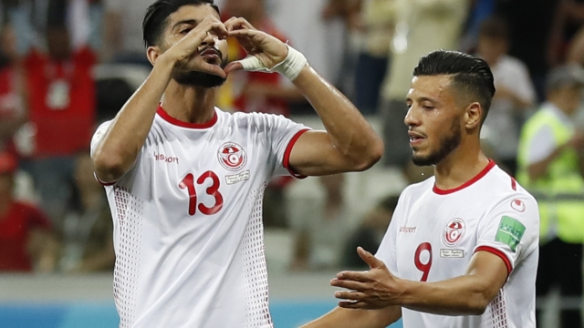 The Latest England Tunisia 1 1 At Halftime In Volgograd Lemonwire