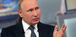 The Latest: Putin says World Cup venues should cover costs