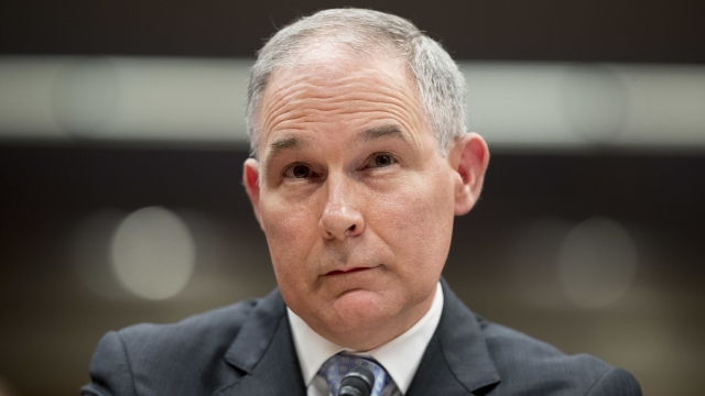 EPA chief Pruitt resigns after months of scandals