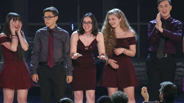 Parkland shooting students to appear before US Open
