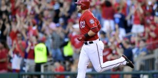 Reynolds has 2 HRs, 10 RBIs, Nationals rout Marlins 18-4