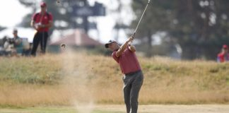 The Latest: Carnoustie not living up to its nickname