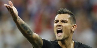 The Latest: Croatia, Denmark 1-1 at halftime in Round of 16
