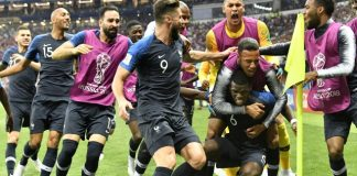 The Latest: France clinches World Cup with win over Croatia