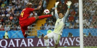 The Latest: Japan holds Belgium 0-0 at break in Round of 16