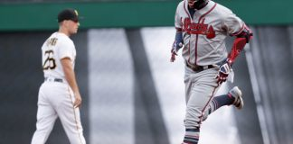 Acuna hits leadoff HR, Braves edge Bucs 2-1 for 3-game sweep