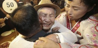 At emotional Korean reunions, genuine talk often impossible