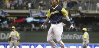 Brewers rally past Pirates 7-6 on Arcia's single in 15th