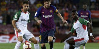 Messi scores Barcelona's 6,000th league goal