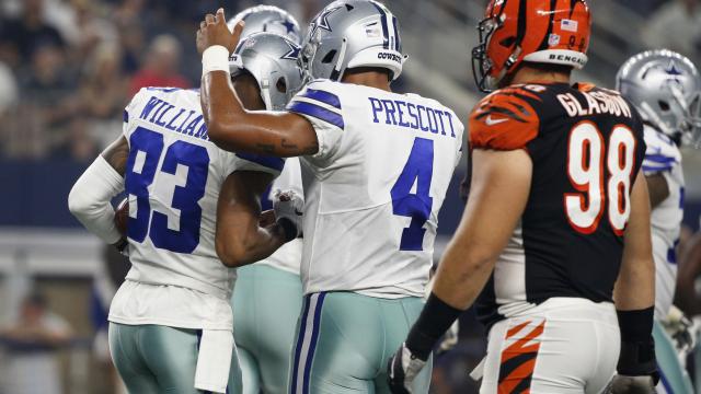 Prescott solid, Dalton sluggish as Bengals top Cowboys 21-13