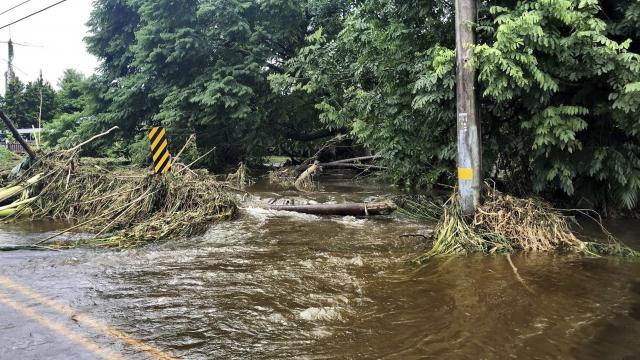 The Latest: Feds: Tropical Storm Lane still dangerous