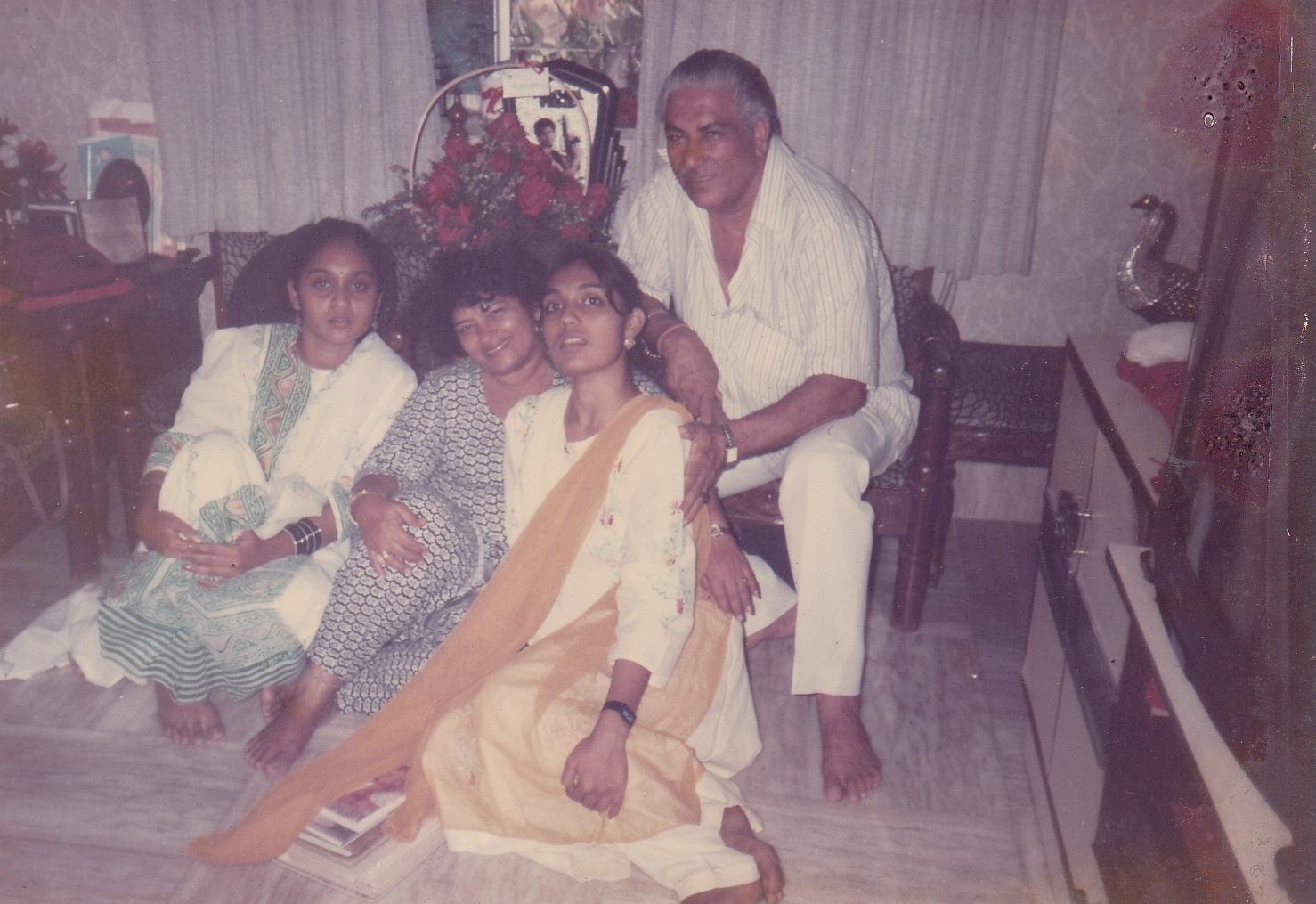 Choreographer Saroj Khan's Birthday