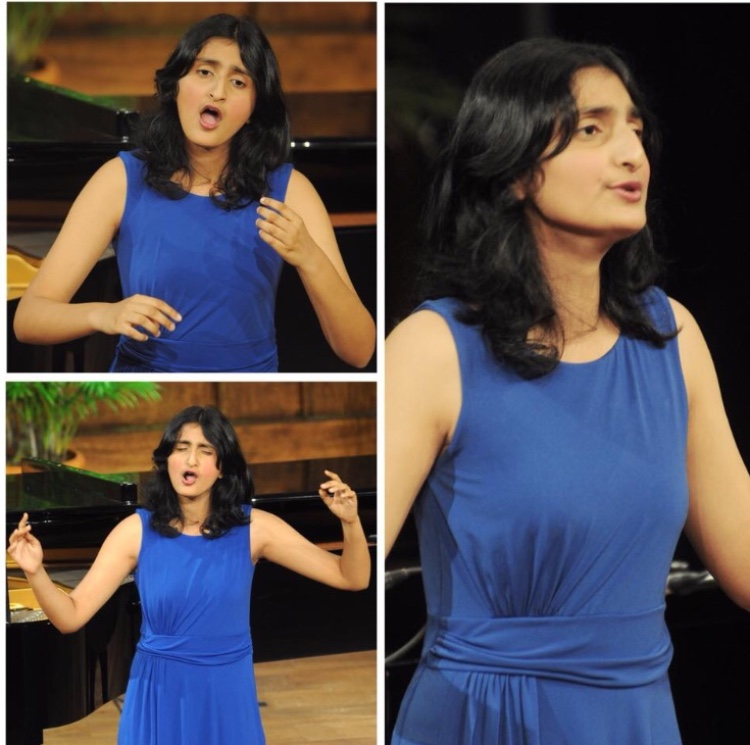Aditi Iyer sings She's not there.
